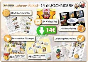 Lehrer-Paket Thema GLEICHNISSE