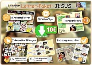 Lehrer-Paket Thema JESUS