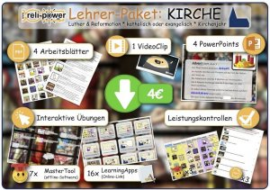 Lehrer-Paket Thema KIRCHE