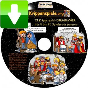 Krippenspiel-CD per DOWNLOAD - 21 Versionen